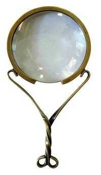 Brass antique Mangnifying Glass