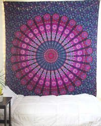 Indian Mandala Printed Tapestry