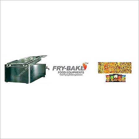 Rectangular Batch Fryer Indirect Heating