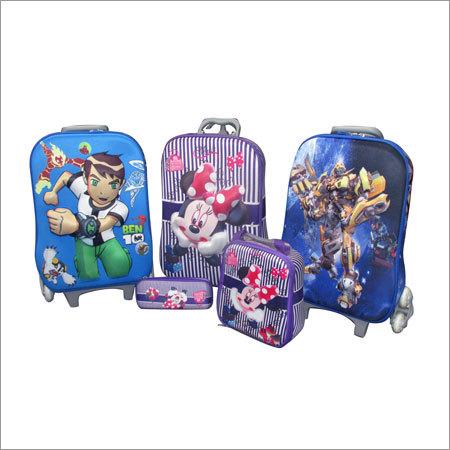 3 pieces Kids trolly Bag Set