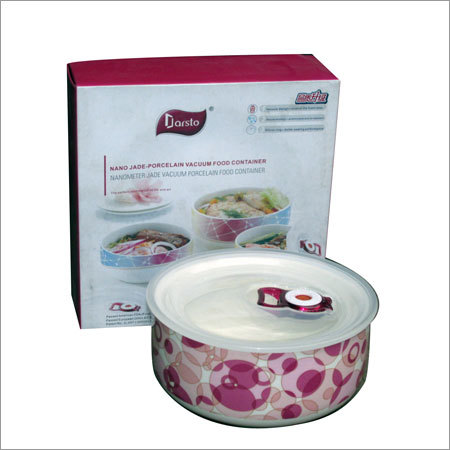 Porcelain Vacuum Food Container