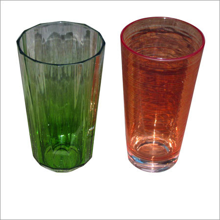 Colored Acrylic Drinking Glass