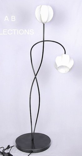 Iron Floor Lamp With 2 Light Led