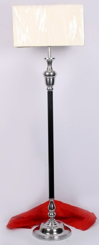 Aluminium Floor Lamp With Round Base