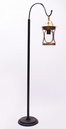 Brass & Iron Floor Lamp
