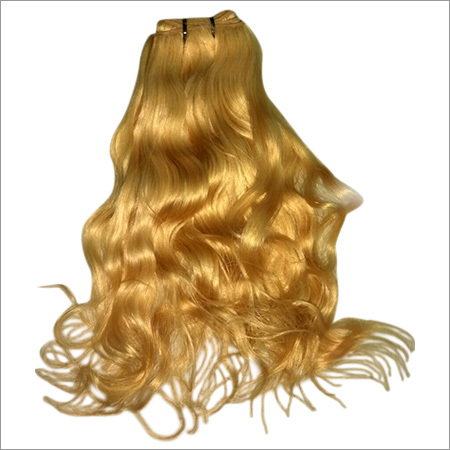 Blonde Color Human Hair