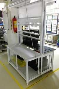 Aluminum Extrusion ESD Workstation