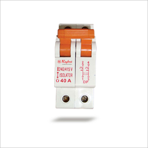 MCB Isolator Double Pole (DP)