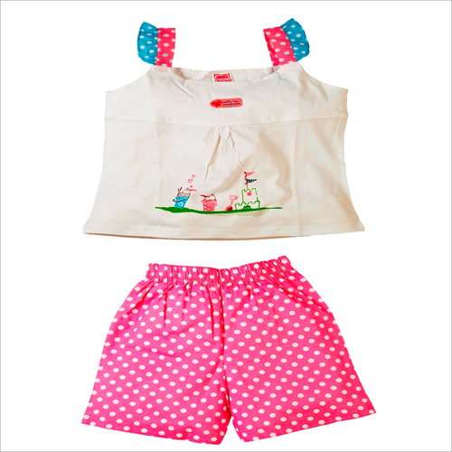 Girls Hot Pant Set