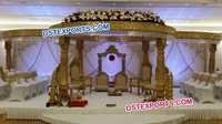 Beautiful Round Fiber Mandap