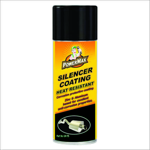 Silencer coating