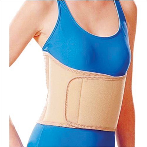 Semi-Elastic Abdominal Support