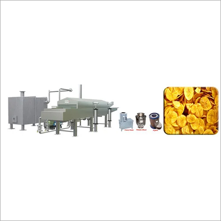 Automatic Banana Chips Making Machine