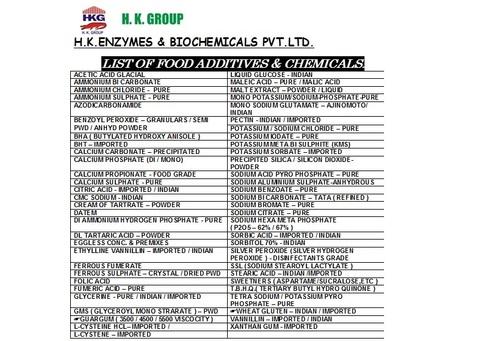 FOS - FRUCTOOLIGOSACCHARIDES