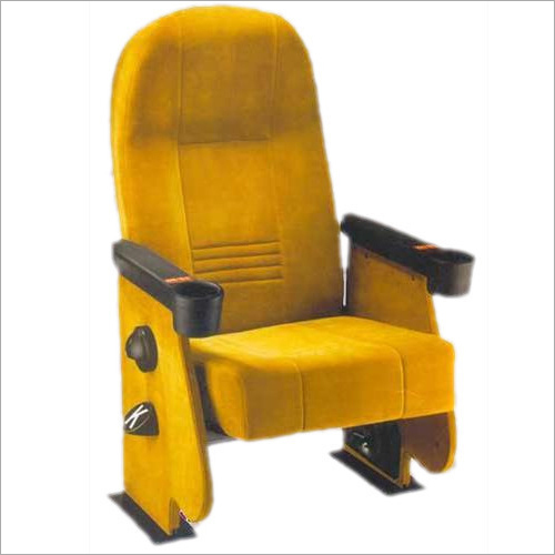 Designer Yellow Auditorium Chair