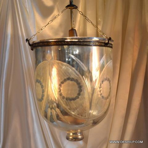 Silver Belljar Lights