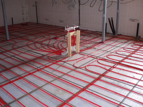 Radiant Floor Heating Cables