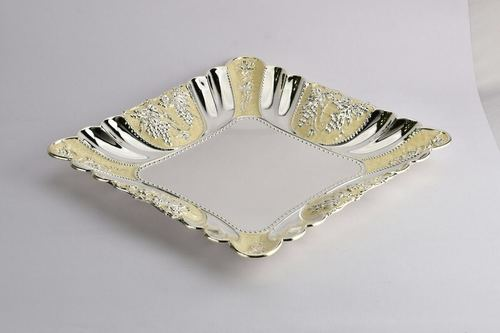 Silver Plated Fruit Bowl