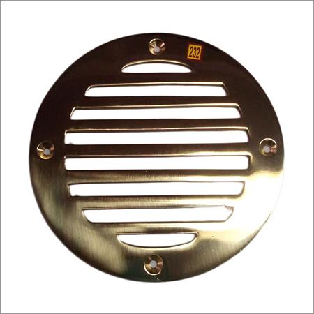 Round Shape Brass Floor Register