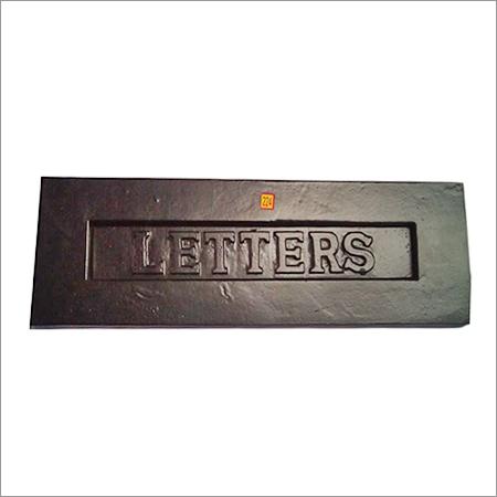 Rectangular Shape Letter Box Plate