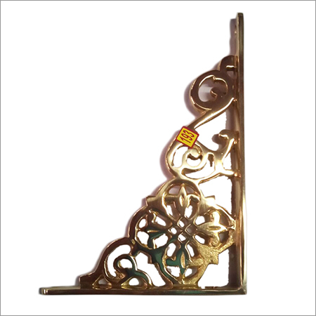 Antique Brass Shelf Bracket
