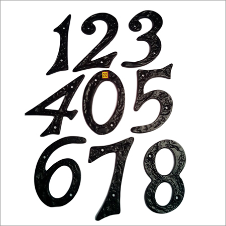Cast Iron Number