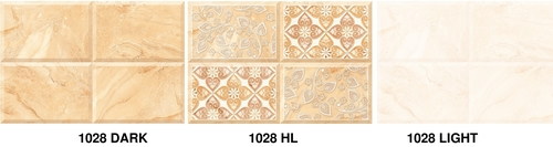 300 x 450 Glossy Ceramic Wall Tiles