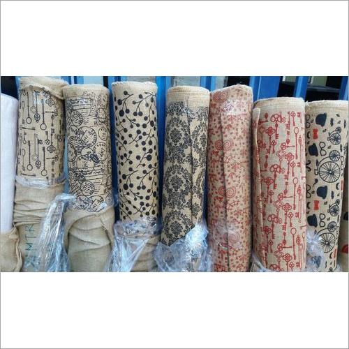 Printed Hessian Cloth
