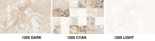 300 x 450 Digital Glossy Wall Tiles