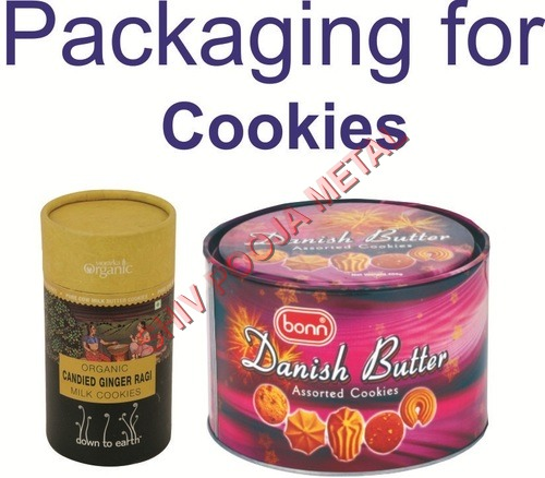 Cookies paper container
