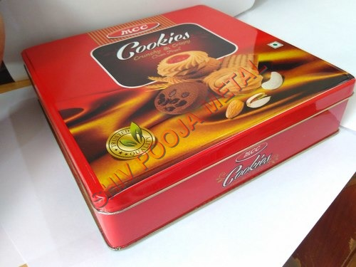 Cookies Square Tin