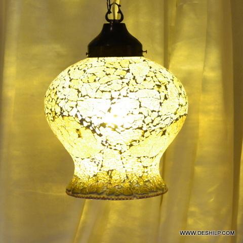 Mainstays Glass Hurricane Glass Hurricane Mosaic Stand decorative HAINGING
