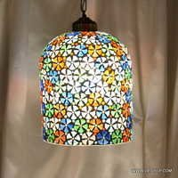 MOSAIC GLASS HANGING, DECORATIVE GLASS HANGING