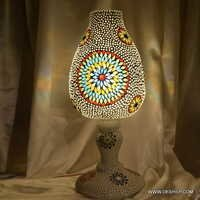 Mosaic Table lamp Tiffany Hand made Table Lamp Glass
