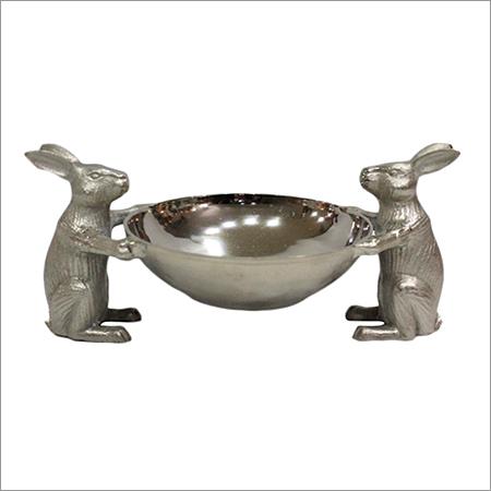 Decorative Rabbit Serving Bowl