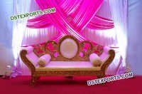 Stylish Wedding Two Seater Sofa