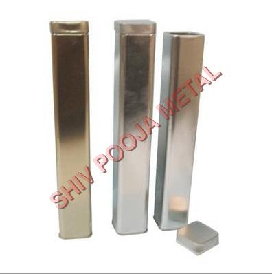 Incense square tin