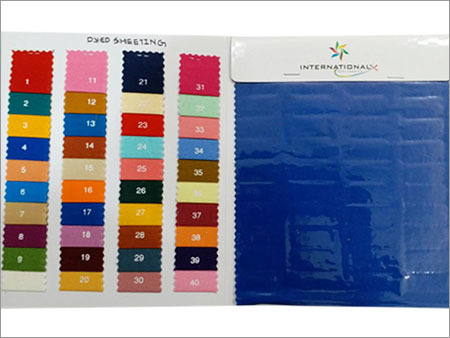 Dyed Sheeting Single Width Fabric