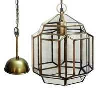 Brass & Glass Pendent Lights