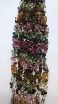 Multi Tourmaline Pears