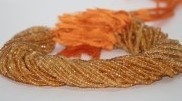 Citrine Micro Faceted Beads