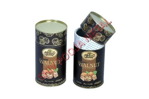 Dry Fruits Paper Canister