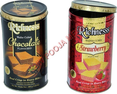 Chocolates Tin Can