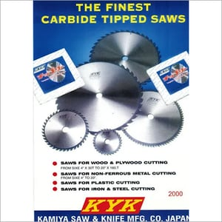 KYK Tungsten Carbide Tipped Circular Saw  Blade