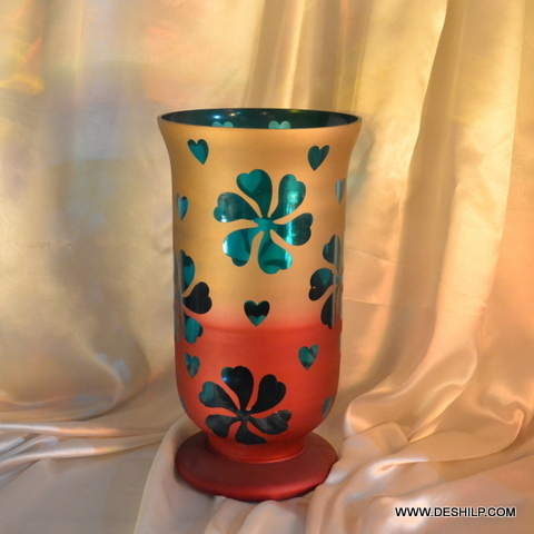 FLOWER VASE,CLEAR VASE,FLOWER POT, MOSAIC VASE,DECORATIVE FLOWER POT,