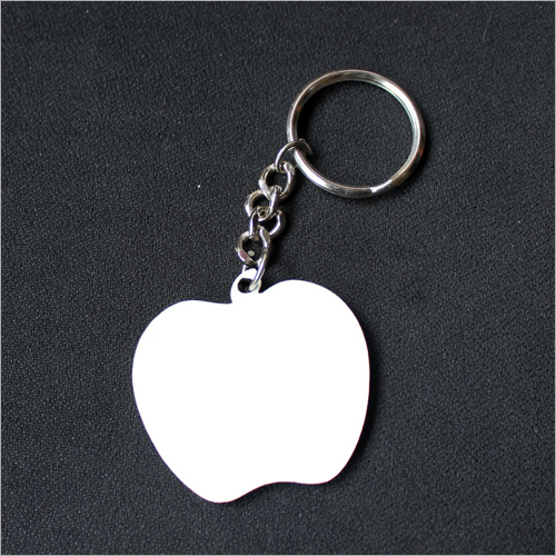 Apple Polymer Key Chain