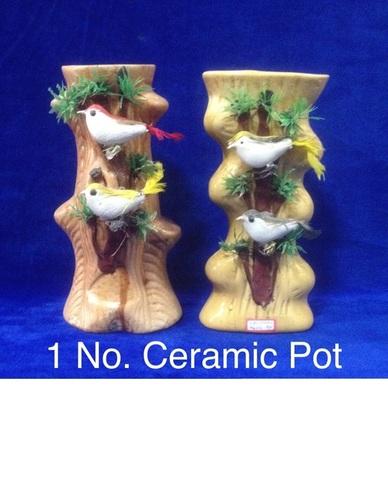 1 No Ceremic Pot