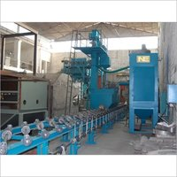 Airless Diabola Type Shot Blasting Machine