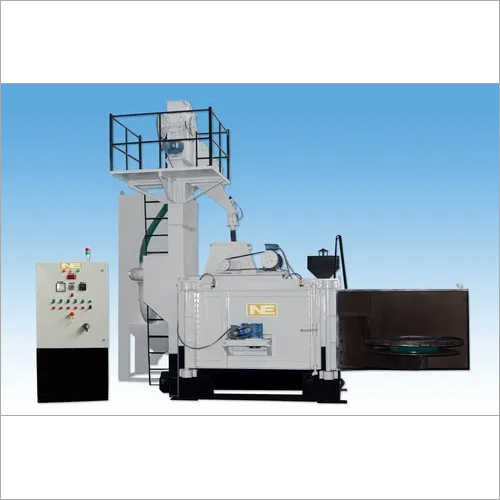 Swing Table Type Shot Blasting Machine