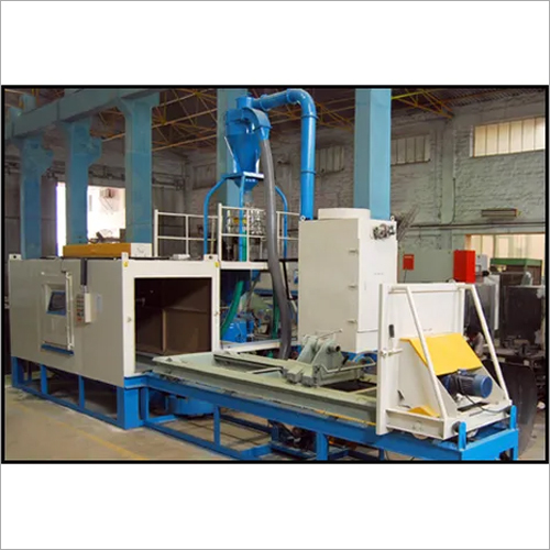 Roll Etching Shot Blasting Machine